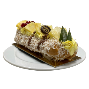 Pineapple and Coconut Éclair