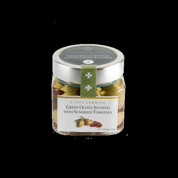 Olives Stuffed W Sundried Tomato