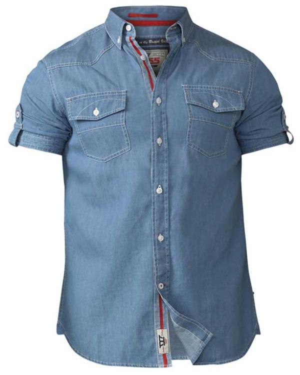 Nathan Light Cotton Denim Shirts