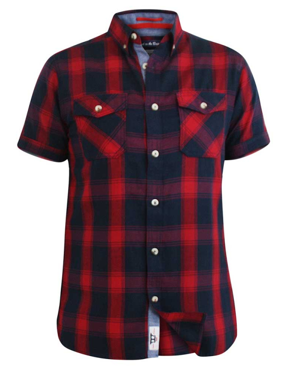 Oliver Red Checked Shirt