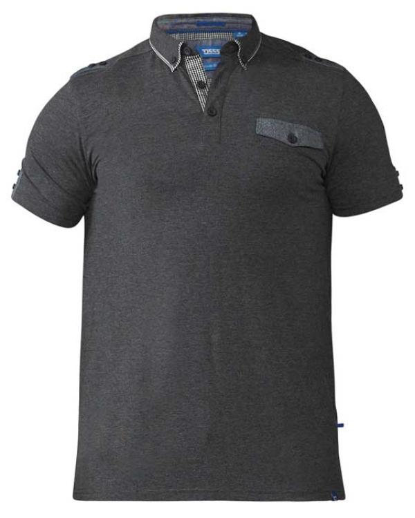 Hogan Black Marl Polo Shirt