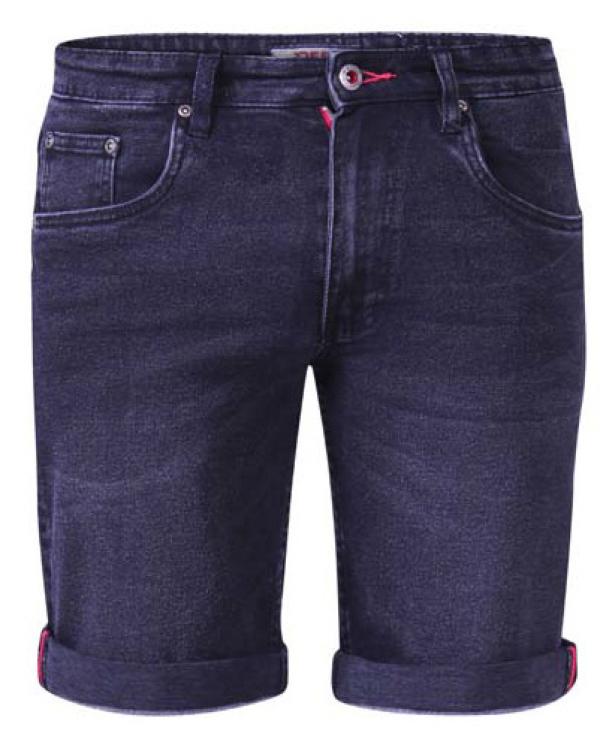Geneva Black Stretch Shorts
