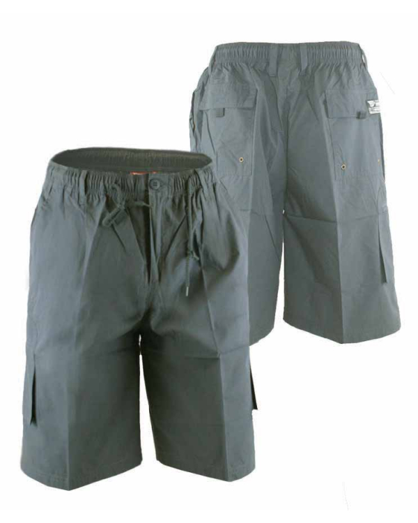 Nick Cargo  Shorts with Elasticated Waist and Drawcord