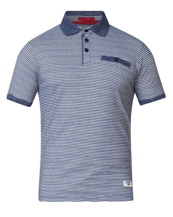 Tyrone Striped  Polo Shirt