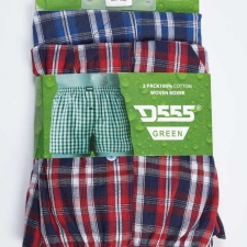 Plaid Twin Pack  Boxer Shorts  image 1